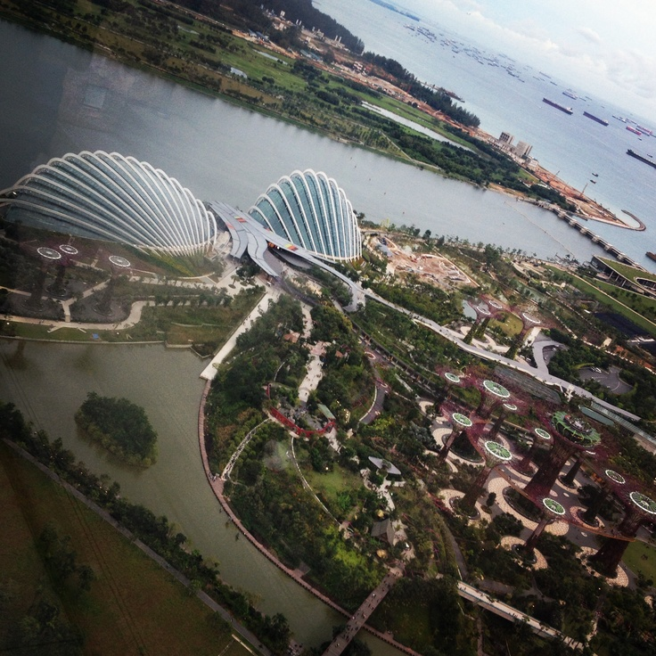 Cloud Forest Conservatories at Marina Bay South Gardens, Singapore