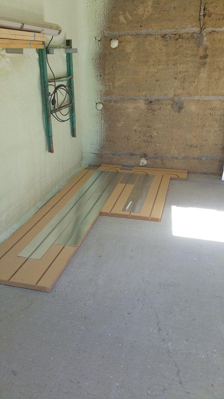 1000 id es sur le th me plancher chauffant sur pinterest for Pose carrelage sur plancher chauffant