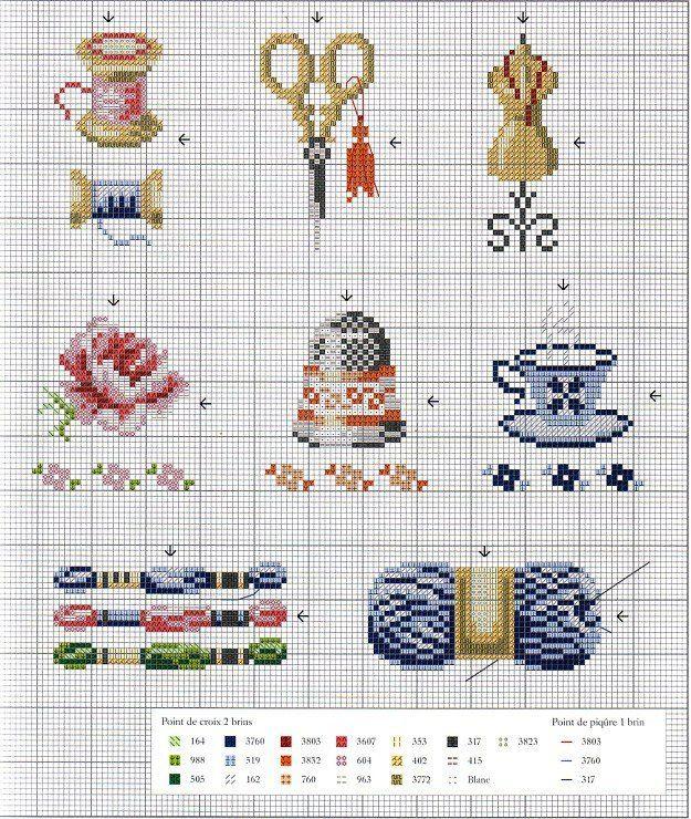 Gallery.ru / Фото #6 - Собираю схемы с наперстками - Julie-pr