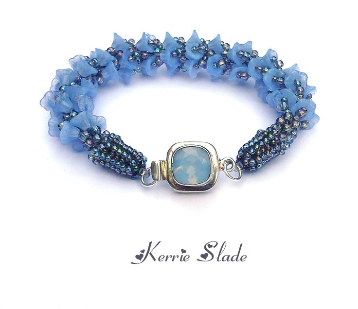Another Kumihimo bracelet using an AGOS clasp. I love this one, I could dive right into that clasp! http://www.agrainofsand.com/Beads-Clasps-253.html