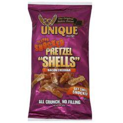 Unique Flavor Shocked Bacon Cheddar Pretzel