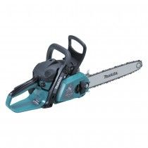 """Makita EA3201 S35B 32cc petrol chainsaw with 14"""" cutting bar and toolless chain tensioning."""