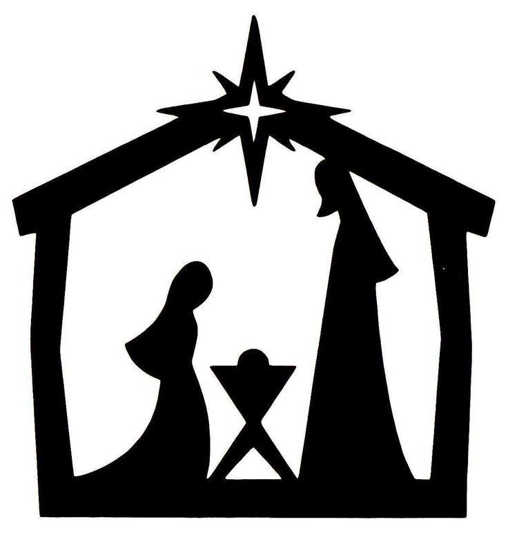 Image result for contemporary manger scene silhouettes ...