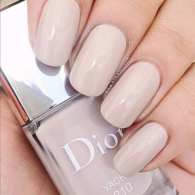 Dior nude color- good dupe color is OPI Don't bossa nova me around.