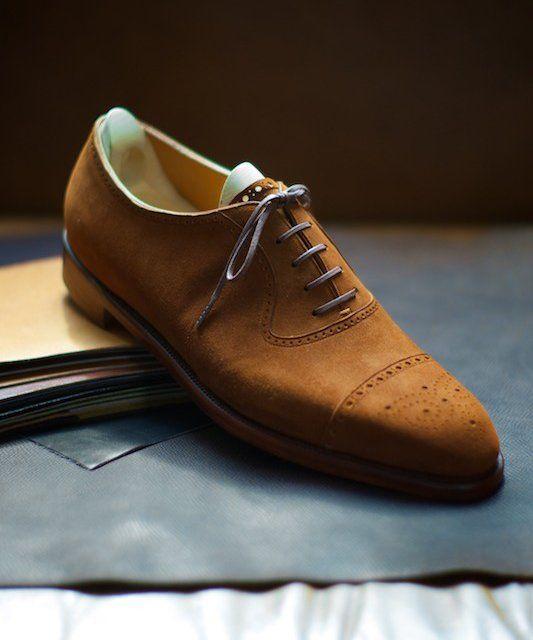 Fancy | Bespoke Suede Shoes by Spigola