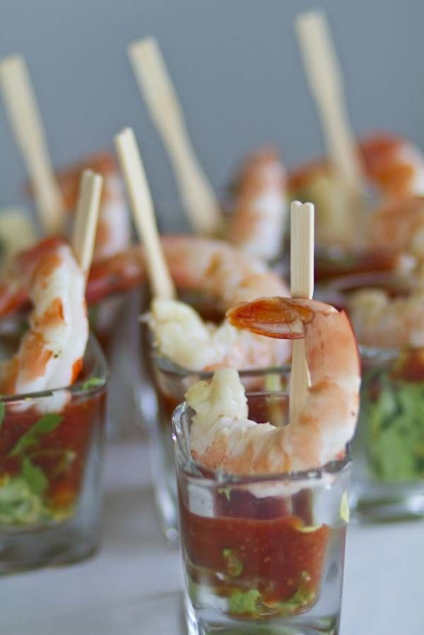 Cute party food shots