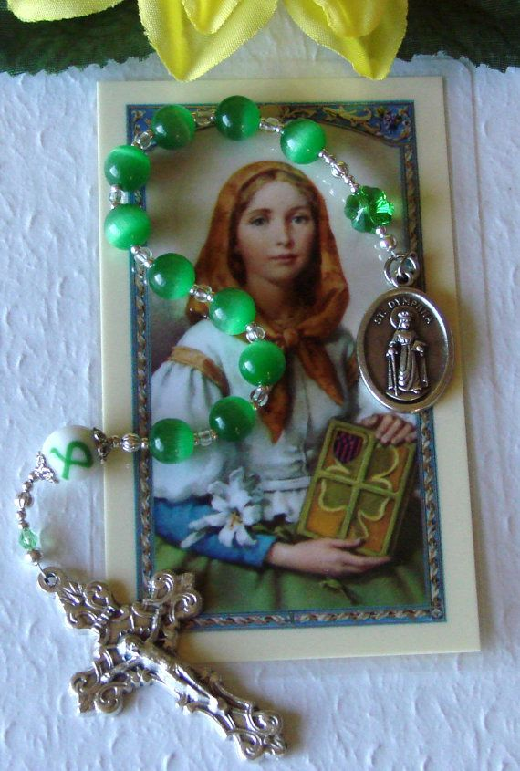 Saint Dymphna Depression Awareness Rosary