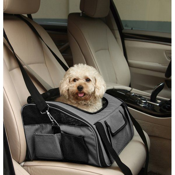 FurryGo Luxury Pet Booster Seat perfectly performs as pet bag and car seat. With Luxury Pet Booster Seat you can put your mind is at ease while driving in conjunction along with your pet. Attached in seconds to the rear seat of most vehicles, Iconic Pet Luxury Pet Booster Seat keeps dogs safe and secured with an enclosed limitation that is attached to your dog's collar, the Booster Dog Seat also protects and secures your pups from even the most strenuous potholes. Your paw-friends travel ...