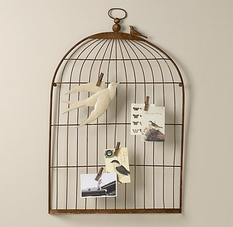 could i make this??Bedrooms Theme, Wall Decor, Birds Cages, Restoration Hardware Baby, Birdcages Memories, Baby Room, Bird Cages, Theme Room, Memories Boards