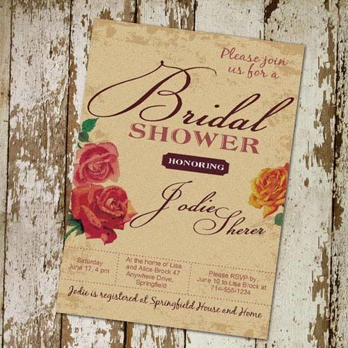 rustic wedding invitations cheap 25 best ideas about cheap bridal shower invitations on 7221