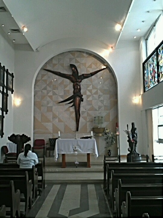 Capilla de Oracion Universitaria en UPAEP Puebla, Mexico