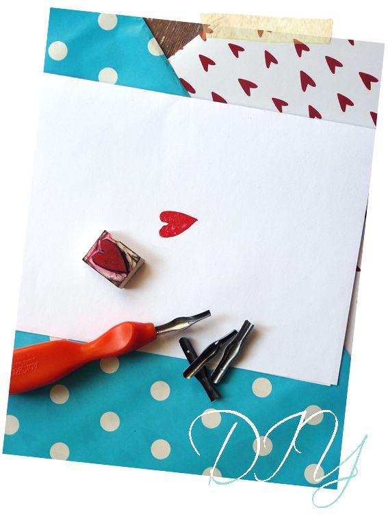Art and Craft Ideas: [DIY] timbri fai da te
