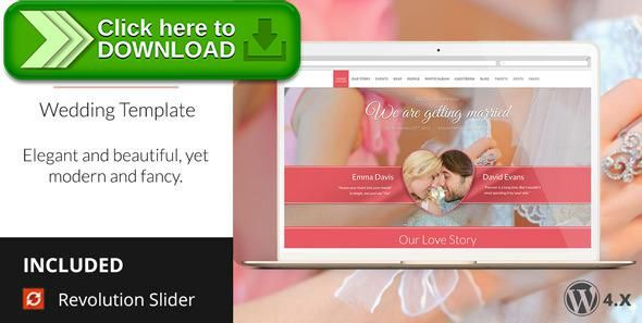 Top Best Wordpress Wedding Theme Ideas On Pinterest Website