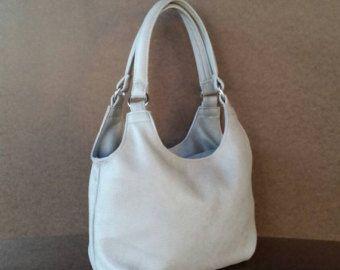 Leather Bag - Everyday Purse in Sand - Fashion Shoulder Handbag - Handmade  Purses bony e93369287ccfa