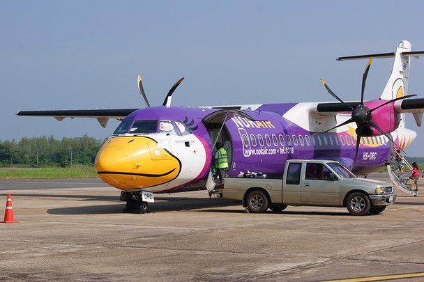 """Nok Air bedeutet im Thailändischen """"Vogel"""" und verkörpert """"Freundschaft und die Freiheit zu Reisen""""."""