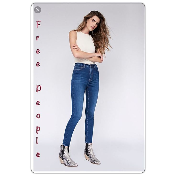 Free People Stirrup High Waisted Skinny Stretch Jeans 31 - slimming #FreePeople #SlimSkinny