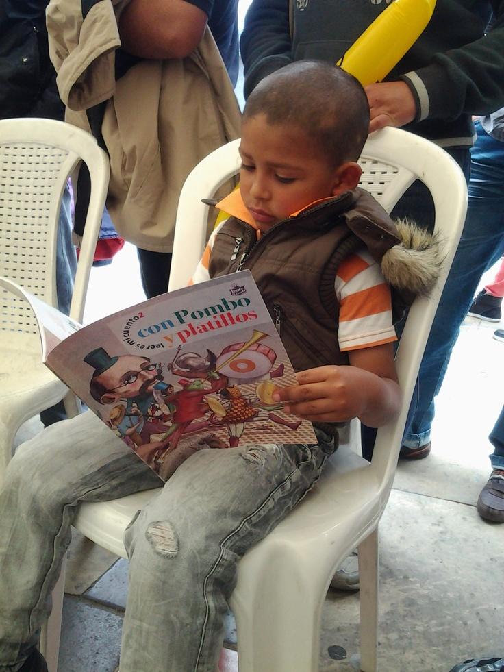 Yo descubro el mundo con la lectura de Pombo.