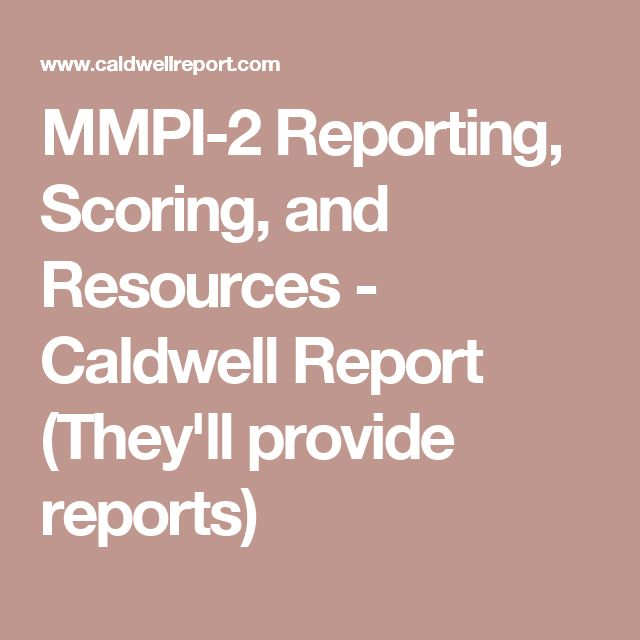 The 25 best minnesota multiphasic personality inventory ideas on mmpi 2 reporting scoring and resources caldwell report theyll fandeluxe Image collections