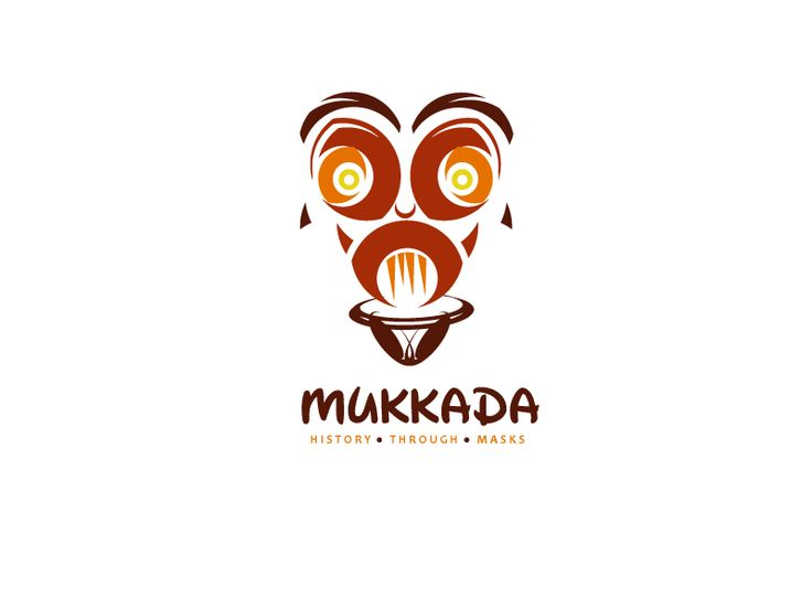 Logo FOR SALE!!! www.thracianweb.com  Tribal mask, can be used for a large variety of business: antiques, home decor, tourism,travel agency, culture education, accessories store, souvenir shop.