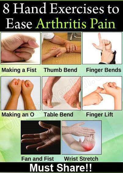 Hand Exercises to Ease Arthritis Pain