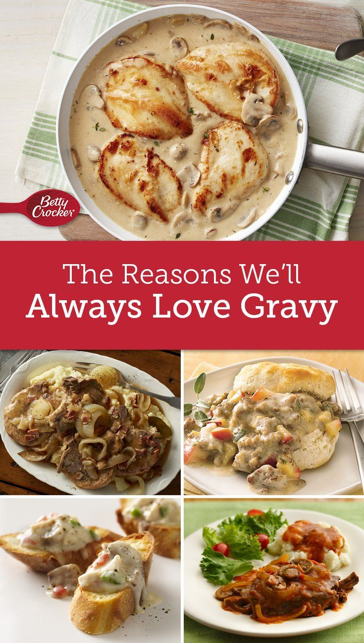 What is it about homemade gravy that makes dinner so much better? If spooning it over everything is wrong, we don't want to be right!
