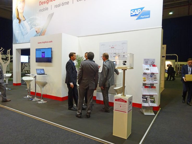 Conversations at Implico Stand 2