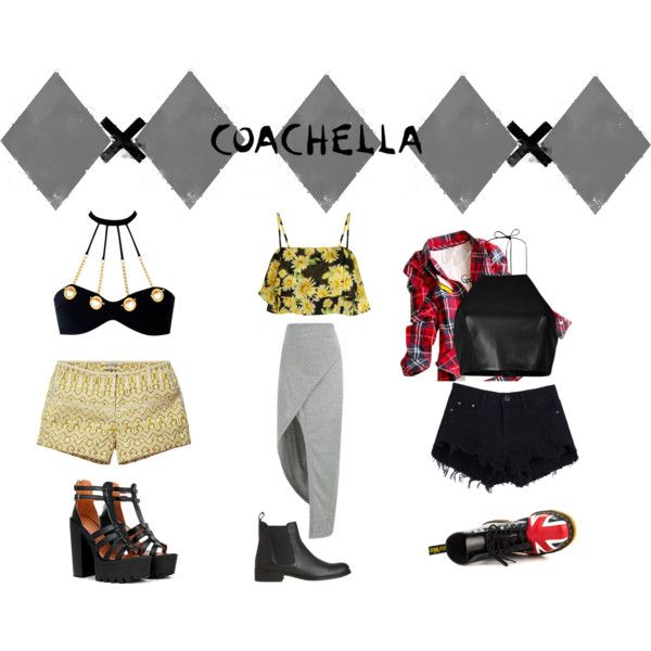"""Coachella"" by daniidf on Polyvore"