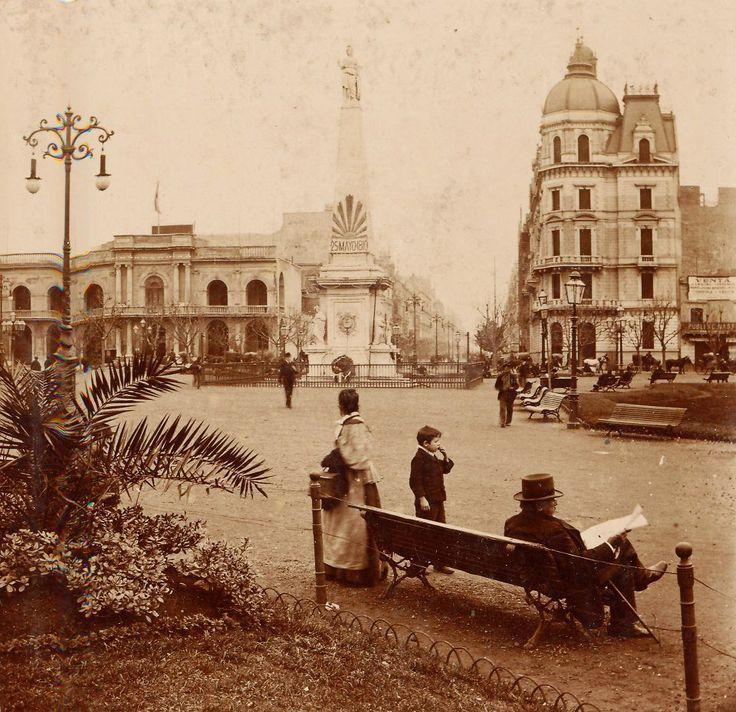 Plaza de Mayo en Buenos Aires, Argentina