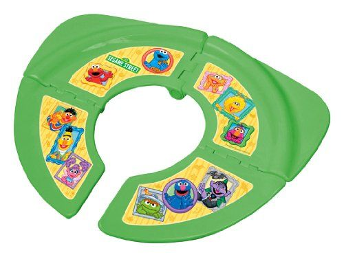 Portable Sesame Street Folding Potty Seat - Green