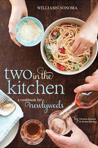 The Best Last-Minute Wedding Gifts — Forget That Picked-Over Registry #refinery29  http://www.refinery29.com/46956#slide24  Two in the Kitchen: A Cookbook for Newlyweds, $24.74, available at Barnes & Noble.