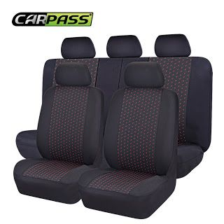 Car-pass Car Seat Covers Set Jacquard cloth 75G black mesh complex Universal Auto Seat Cover Fit Most Styling Car Accessories (32658752052)  SEE MORE  #SuperDeals