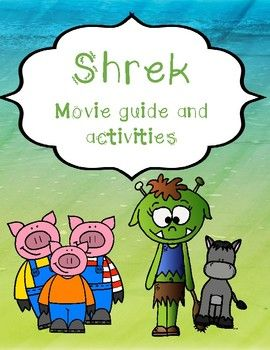 Shrek includes: Fun movie questions and activities about the movie. Buy the document and choose the ativities you want to use #shrek #moviequestions #movie
