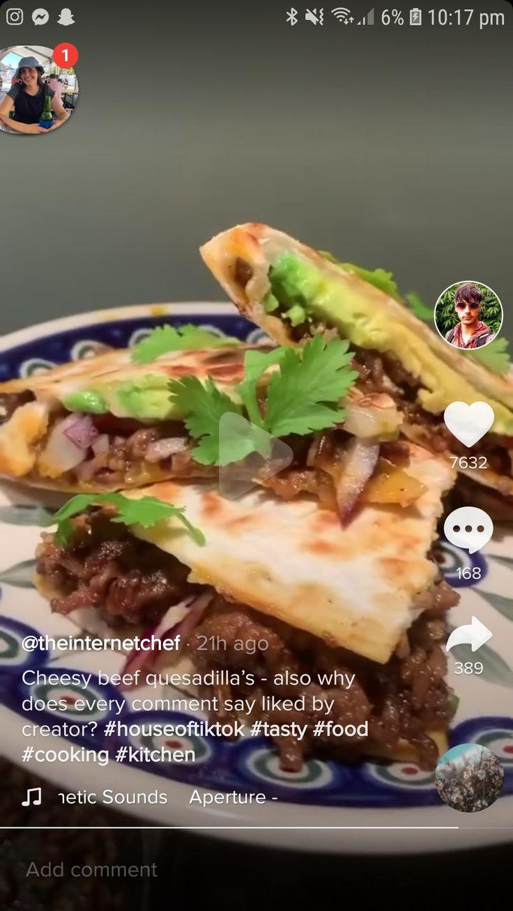 Cheesy Beef Quesadillas Food Beef Quesadillas Recipes