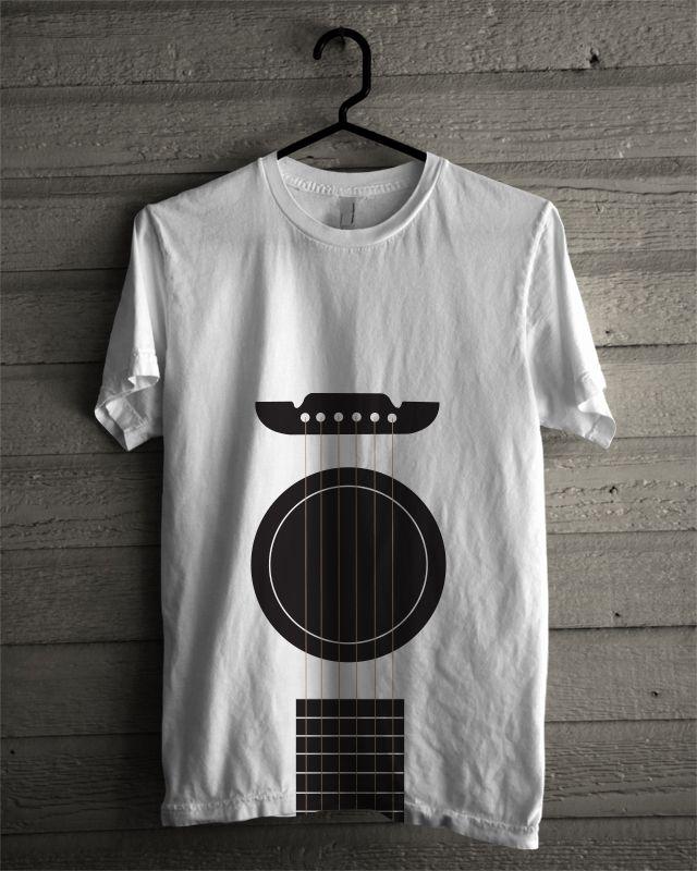 guitar tshirt