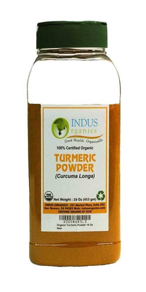 Indus Organic Turmeric (Curcumin) Powder, High Purity, Freshly Packed - Indus Organics