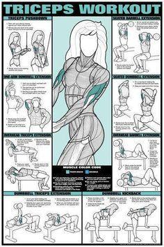 Rutina para #brazos fuertes • Mujer/Varon