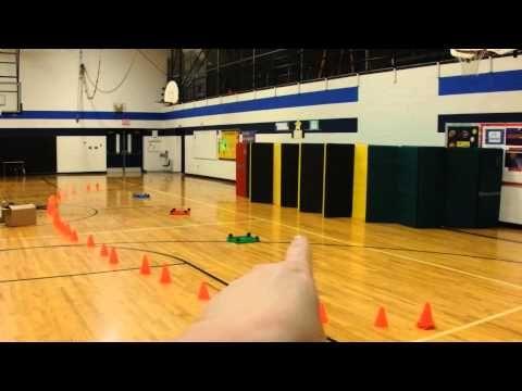 Throwing Game Star Wars Elementary PE - YouTube