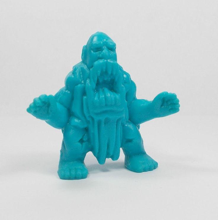 Monster In My Pocket - Series 2 - 52 Ymir - Neon Blue