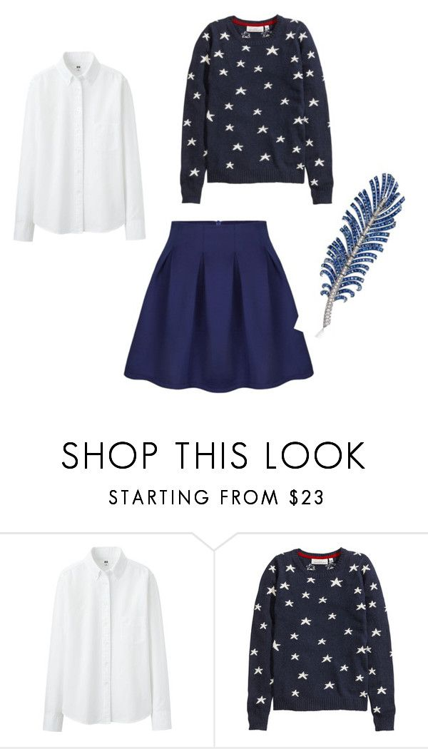 Sunday by clarairawan on Polyvore featuring H&M and Uniqlo