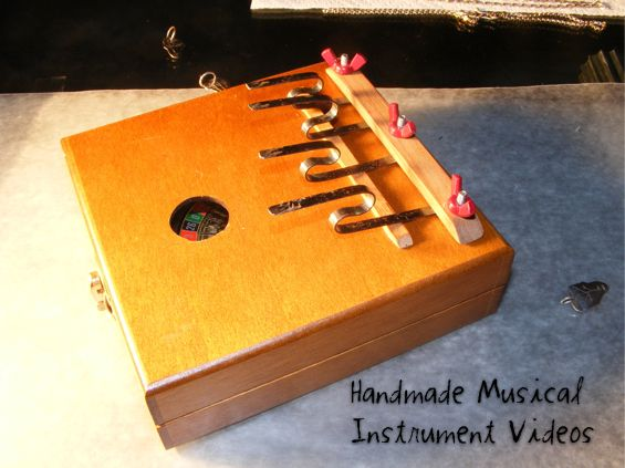 "Maybe I can make my own instruments. ""Mama has a squeeze box, Daddy never sleeps at night!"""