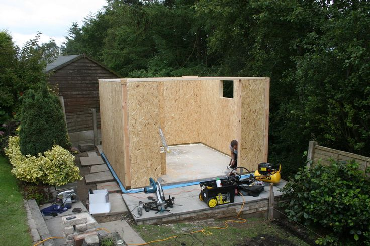 Insulated garden studio office room self build sip kit for Sip building kits