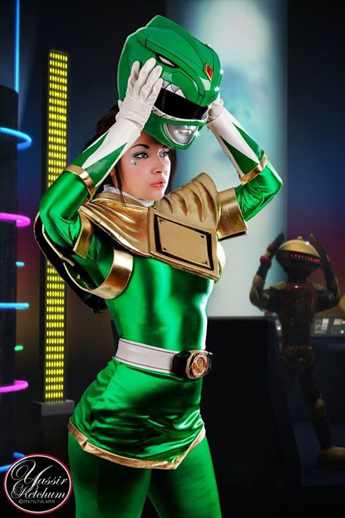 Green Power Ranger Cosplay http://geekxgirls.com/article.php?ID=1520