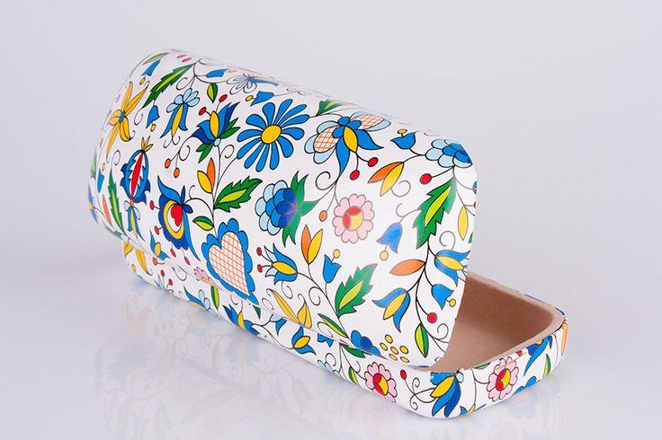 Polish folk design glasses case