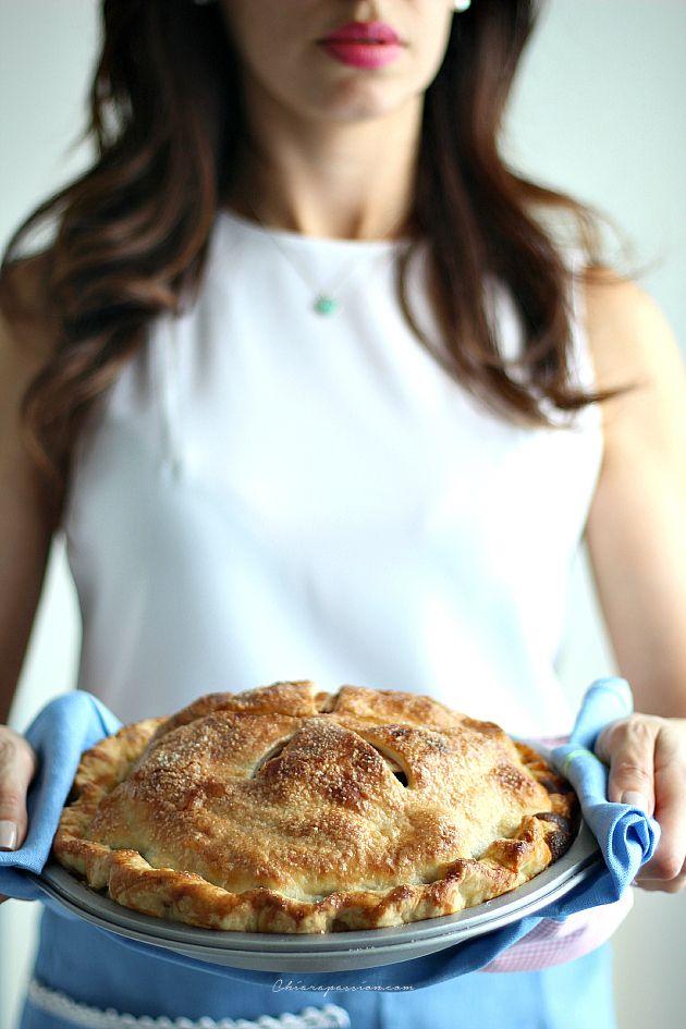 Apple pie (ricetta originale pie crust)   Chiarapassion
