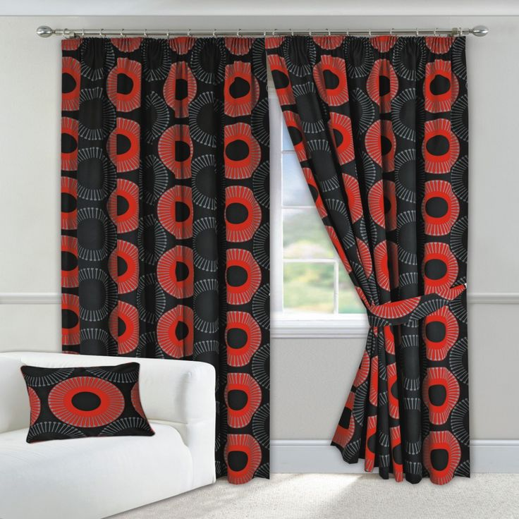 Red And Black Curtains Bedroom   Bedroom Wall Art Ideas Check More At Http:/