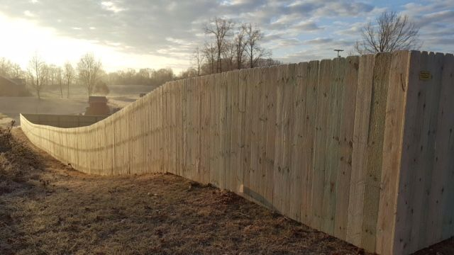 Wood Privacy Fence – Yard Dog Fence of Clarksville | Fence Contractor