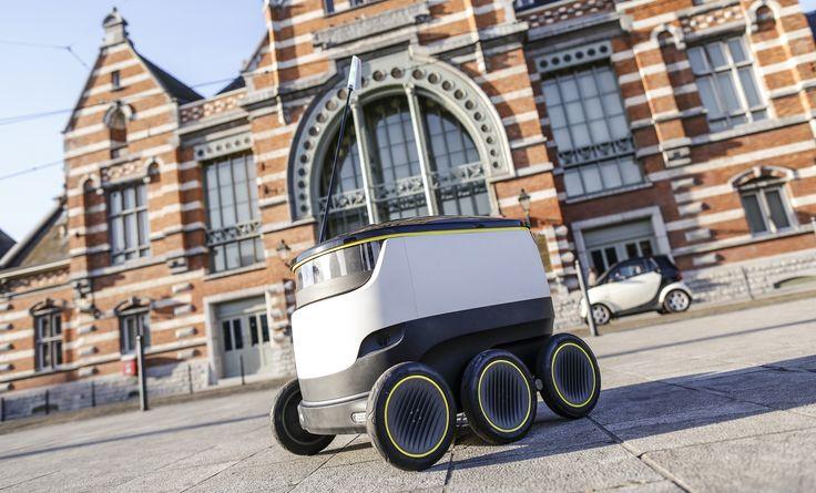 Starship-Roboter liefern Pakete für Hermes in Hamburg aus - http://www.logistik-express.com/starship-roboter-liefern-pakete-fuer-hermes-in-hamburg-aus/