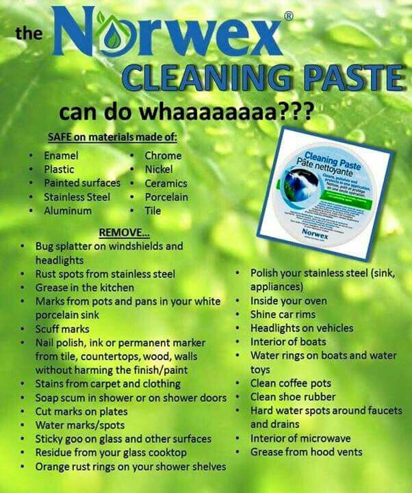 Norwex Cleaning Products: 64 Best Norwex Quotes Images On Pinterest