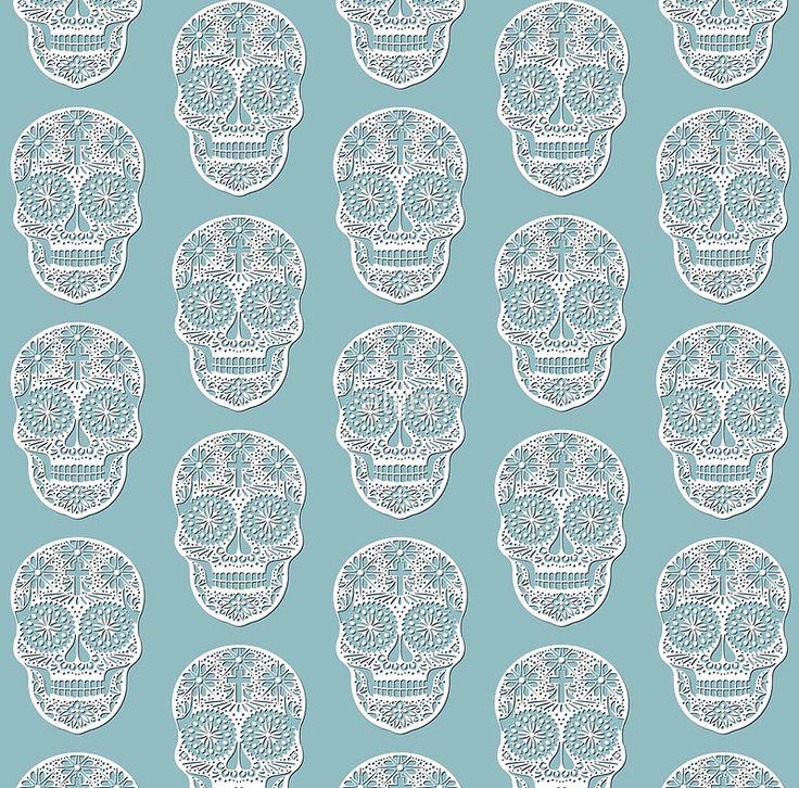 Openwork skull
