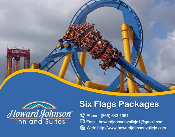 Howard Johnson is one of the best choice for your holiday plans, there are offered you six flag package for your enjoying holiday. https://goo.gl/5d0WlD